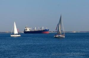 /Barcos no Tejo - I