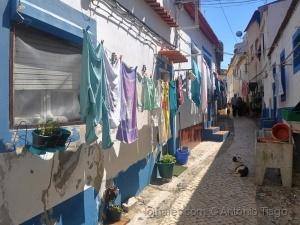 /A viela da roupa lavada.