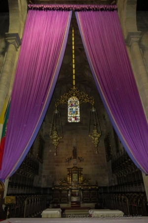/Altar da Sé de Braga -Semana Santa -