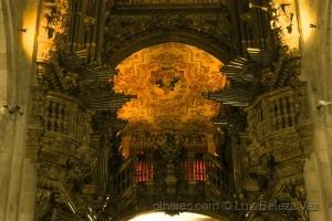 / órgãos da Epístola e do Evangelho -Sé de Braga-