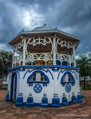 Paisagem Urbana/Coreto de Goiás..