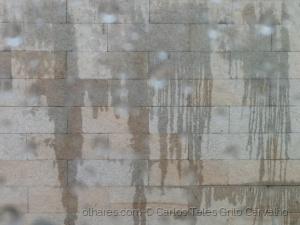 Abstrato/Borrão de água