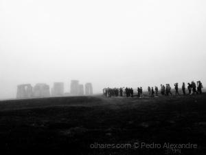 História/ Brumas de Stonehenge a p&b