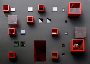 Abstrato/Red Cube