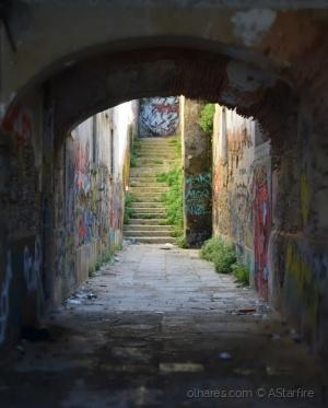/Escadas sombrias?