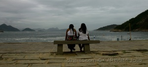 /Elhas! conversam na Praia Vermelha -  RJ 3-3