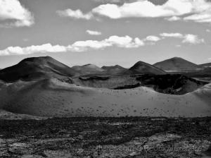 /Montanhas do Fogo em Timanfaya