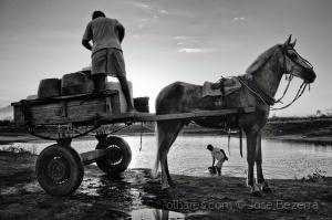Fotojornalismo/Nos dias de seca...