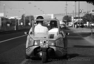 Paisagem Urbana/Um passeio de triciclo