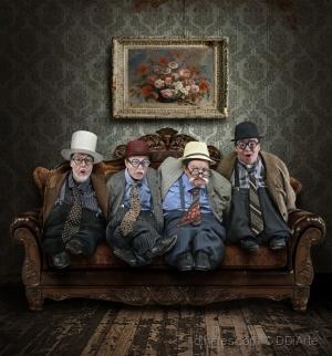 Retratos/Quatro Anões