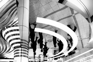 Abstrato/linhas e reflexos