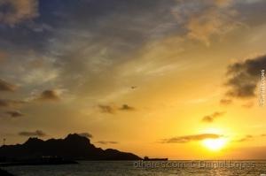 Paisagem Natural/Por do Sol na Baía do Porto Grande
