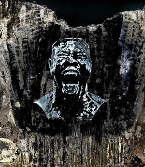 Abstrato/O grito do cimento