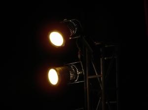 /Luz no palco