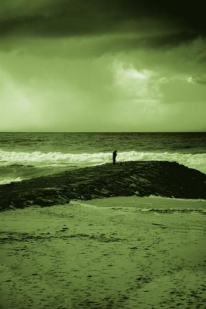 /Uma tempestade em tons de verde...