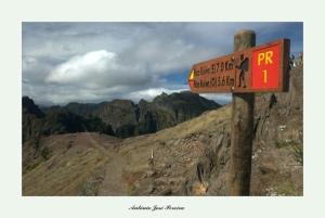 """/A caminho do """" Pico Ruivo """""""