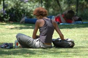 Outros/verão no parque