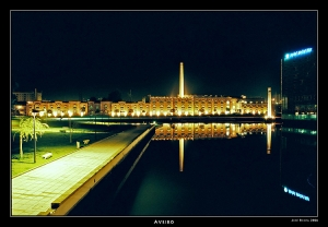 /Aveiro by night