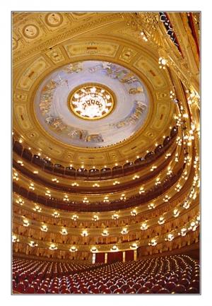 /Interior do Teatro Colón - Buenos Aires