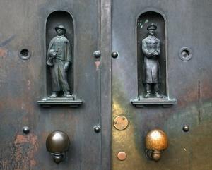 /porta de polícia