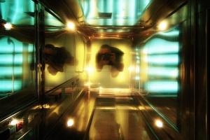 /autorretrato no elevador