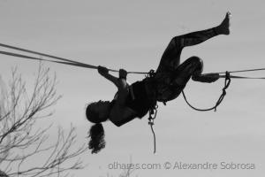 Desporto e Ação/Na corda bamba