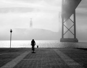 /A misty morning