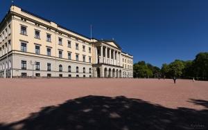 Paisagem Urbana/Palácio Real de Oslo
