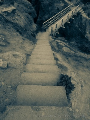/Quando não tiver mais nada,nem chão nem Escada...