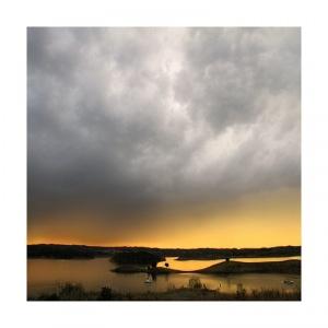 Paisagem Natural/crepúsculo 2 - rio de ouro