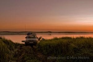 /o crepúsculo dos pescadores ...