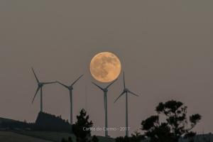 Paisagem Natural/Lua cheia nos Açores