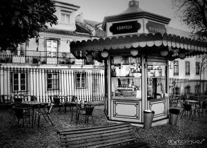 Paisagem Urbana/Quiosque por Lisboa