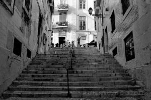 Paisagem Urbana/escadas de Alfama