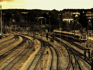 Paisagem Urbana/O cruzar das linhas de Ferro