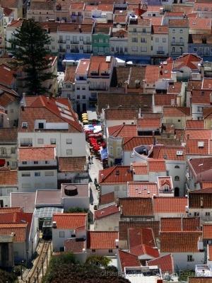 Paisagem Urbana/Telhadinhos de Nazaré