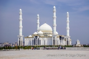 """Outros/Cathedral mosque """"Khazret Sultan"""" - Astana"""