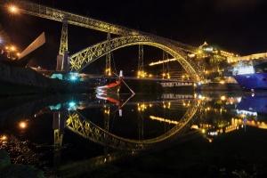 /ponte e reflexo