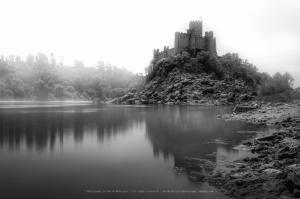 Paisagem Natural/Castelo de Almourol - estudo n.1
