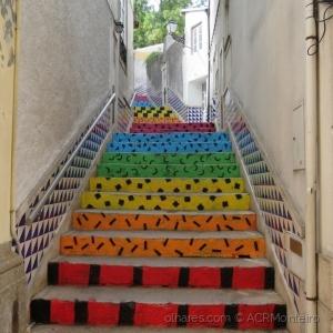 /Escadaria colorida.