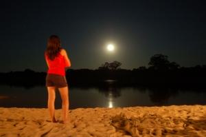 /olha a lua!