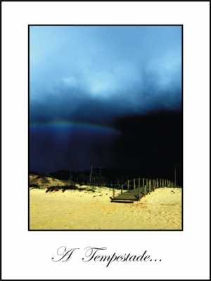 /A tempestade...