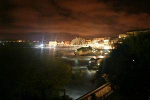 /Biarritz à Noite
