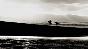 /O chamamento do mar das ilhas de bruma .