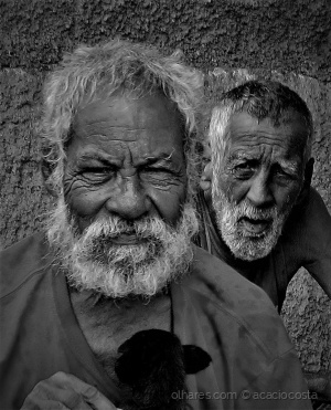 Retratos/Os dois cubanos!