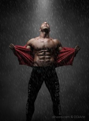 /O homem à chuva