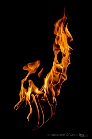 Abstrato/Shaping fire