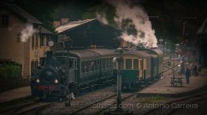 História/Des trains et des hommes