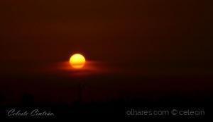Paisagem Natural/Pôr do Sol em Marinhais.