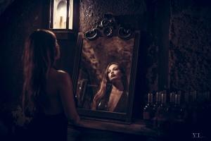 Retratos/Espelho o meu destino enraivecido